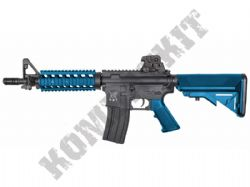 SR4PI Sportline M4 CQB RIS Airsoft Rifle Electric AEG BB Machine Gun Black & 2 Tone